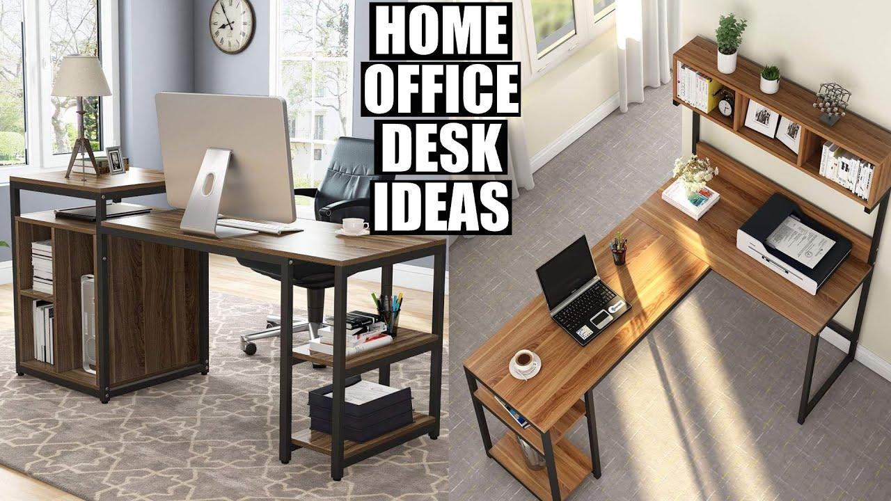 - Home Office Desk Designs 2020 Home Office Setup Ideas - YouTube