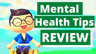 Animal Crossing New Horizon Therapist Review | 5 Professional Mental Health Tips | Family Friendly