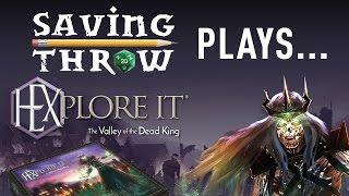 Saving Throw plays HEXplore It - Kickstarter Board Game
