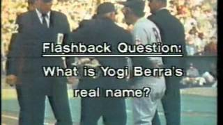 1979 YOGI BERRA flashback on NBC Chicago sports (WMAQ-TV)