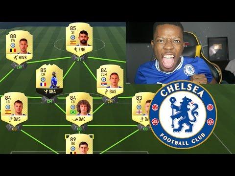 FULL CHELSEA TEAM (FIFA 17)