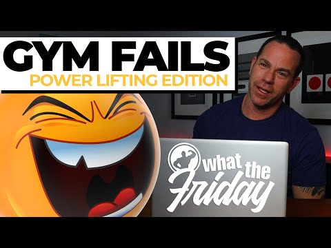 FUNNY GYM FAILS 2020 - POWER LIFTING EDITION (WTF E05)