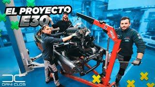 EMPIEZA LO BUENO ... BMW e30 engine swap 2020 | Dani Clos