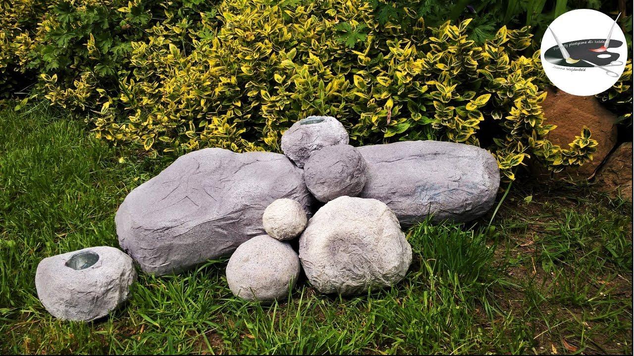 Jak zrobić super lekkie kamienie do dekoracji