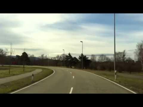 Drive into CFB Baden