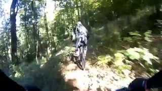Sauerland MTB singletrek Trail + Downhill richtung Balve Garbeck