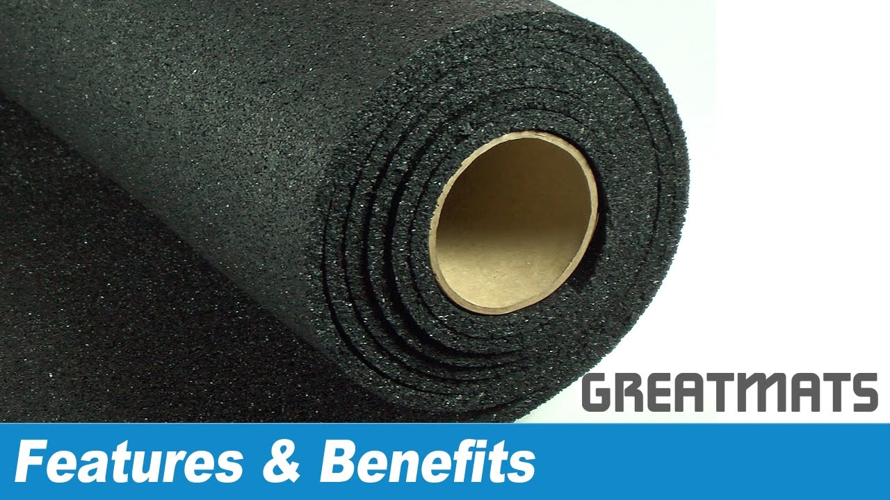 x rubber floor roll coloured rolls speckled flooring
