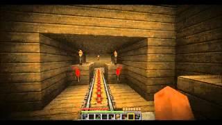 Minecraft U-Bahn System/ Bahnhof (+Download)