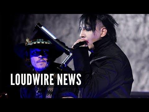 Johnny Depp Joining Marilyn Manson's Band?
