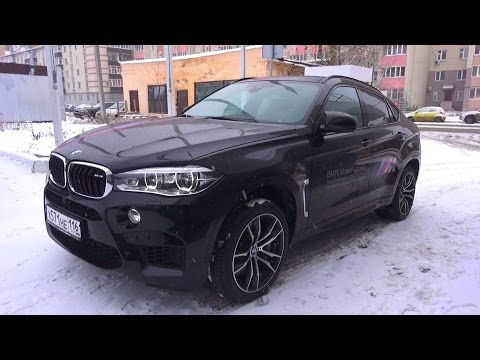 2016 BMW X6 M (F86). Start Up, Engine, and In Depth Tour.