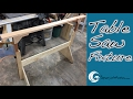 AWESOME Table Saw Outrigger DIY // How-To (Ep. 63)