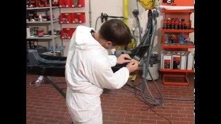 Видеоурок по ремонту бамперов.