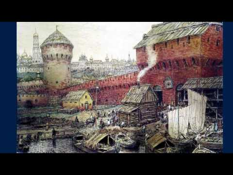 Аполлинарий Васнецов (1856-1933) Московский кремль