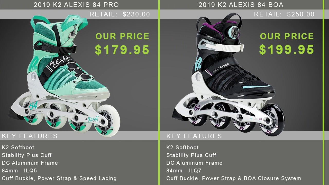 K2 VELOCITY 84 BOA Inline Skate 2017