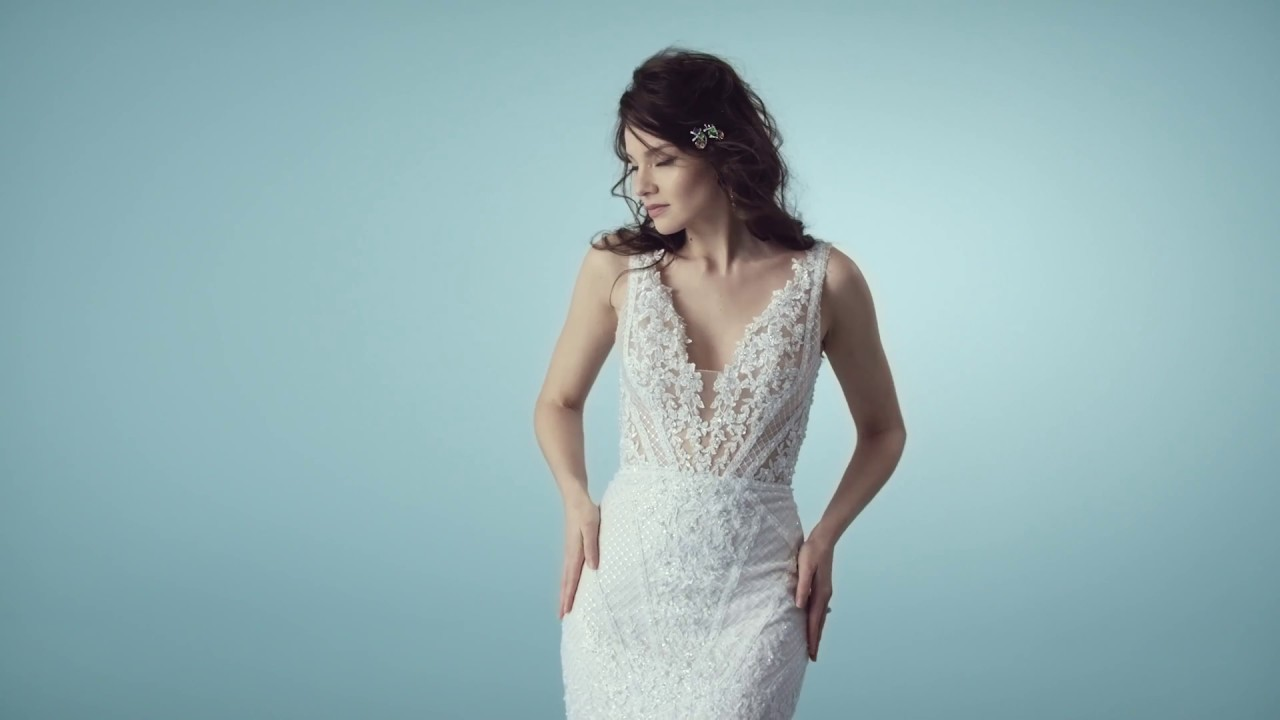 Tanner / Tanner Lynette by Maggie Sottero - YouTube