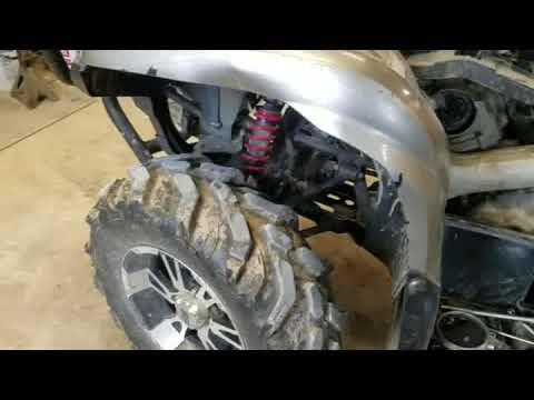 Yamaha Grizzly 700 starting problems fix - YouTube