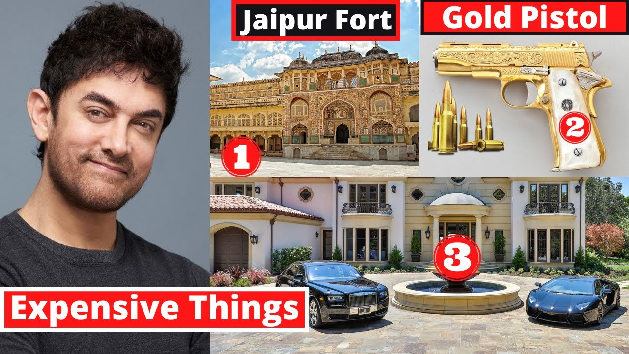 10 Most Expensive Things Aamir Khan Owns - MET Ep 17