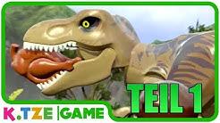 Lego Jurassic Park (World) auf Deutsch 🐲 Ganzer Film als XBox Spiel | Teil 1