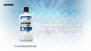 LISTERINE® Advanced White - See How it Works