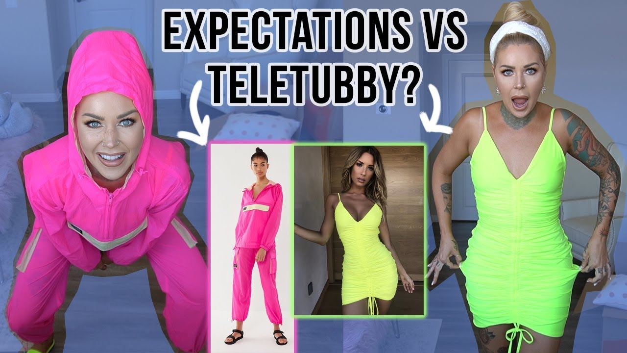 EXPECATIONS VS REALITY: NEON SUMMER OUTFITS | Kristen Leanne 4