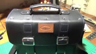 Самодельный кожаный портфель