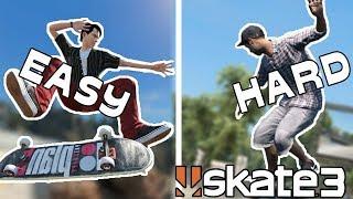Skate 3: ZexyZek vs Nightspeeds Spot Battles | EASY vs HARDCORE