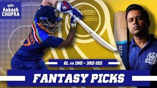OPENERS to go BIG in final ODI?   Real11 Fantasy Picks   SL vs IND - 3rd ODI