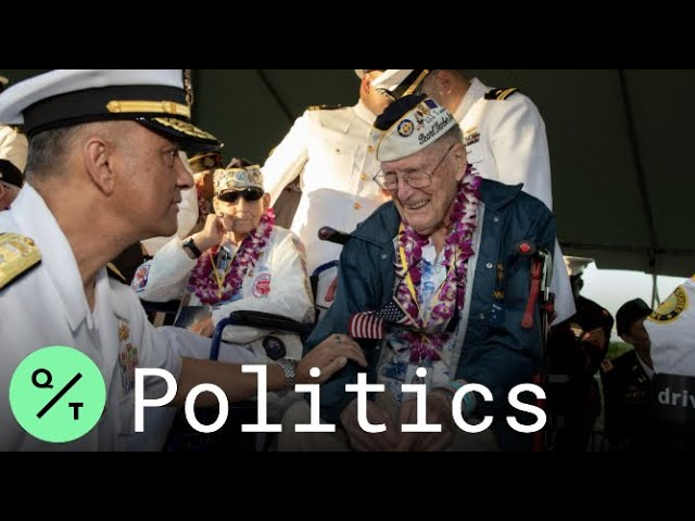 Pearl Harbor Attack Survivors Mark 78th Anniversary in Hawaii