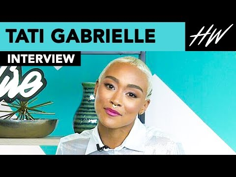 The Chilling Adventures of Sabrina, Tati Gabrielle Gushes Over Ross Lynch!! | Hollywire thumbnail