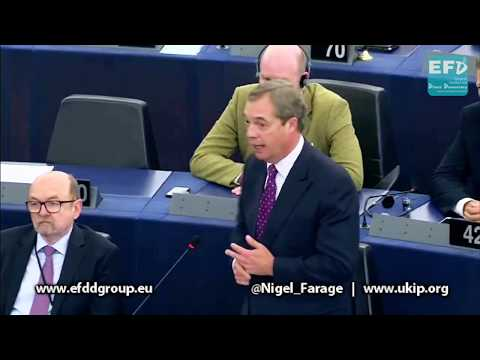 Catalonia crackdown a foretaste of EU political suppression - Nigel Farage MEP