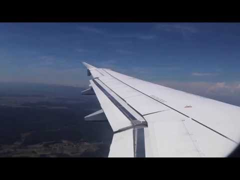 Croatia Airlines A319 very soft landing at Zagreb