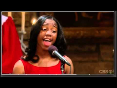 Jamia Simone Nash sings