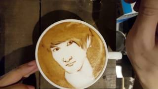 ツイッター→https://twitter.com/george_10g] Today's LATTEART 'KojiMu...