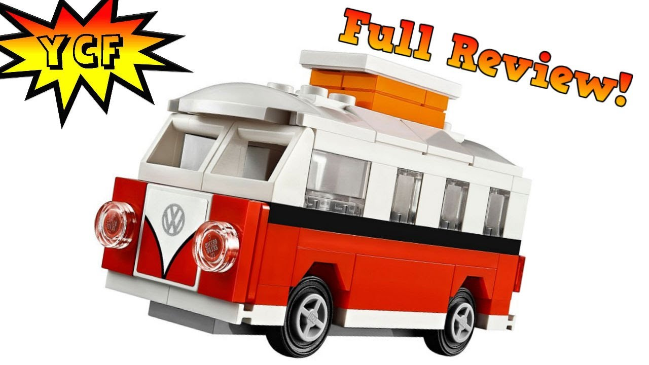 Lego Vw Bus Mini Vw T1 Camper Van Volkswagen Polybag