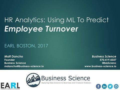 HR Analytics: Using Machine Learning to Predict Employee Turnover