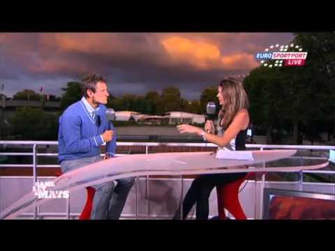 Novak Djokovic and Juan Martin Del Potro- day 6 ( Roland Garros 2011)