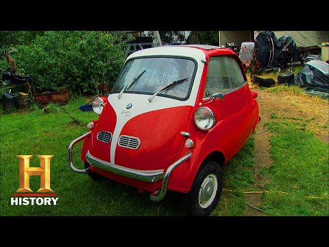 American Pickers: Mike Picks Iconic BMW Isetta Micro Car (Season 12) | History