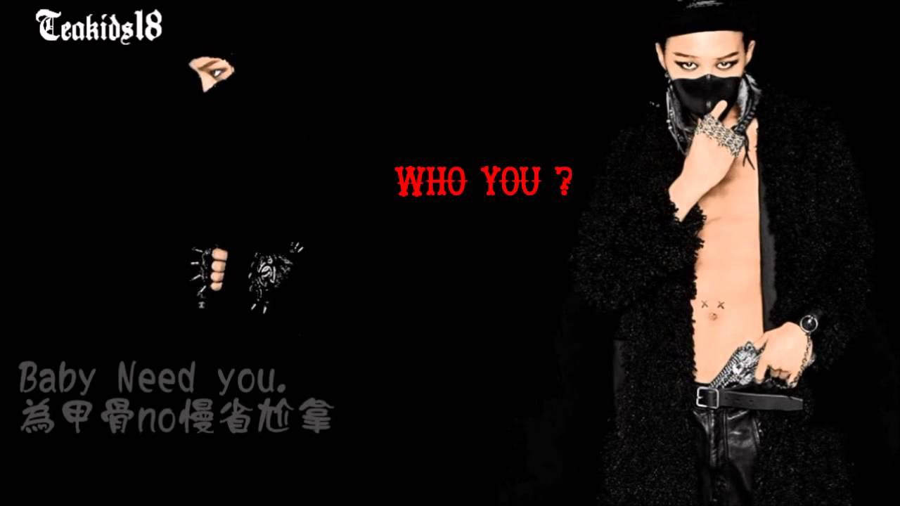 G-DRAGON - Who You ? (中文空耳教學) - YouTube