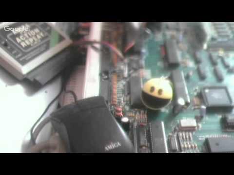 AMIGA A500 + ACA500 + ACTION REPLAY II + GOTEK