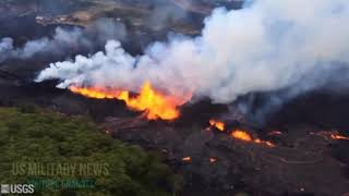 WeNeed2Tlk About: Hawaii's Kilauea Volcano Eruptions Spouting Blue Flames