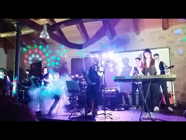 Recital da banda folk de Ribas de Sil na Casa Habanera de Guitiriz