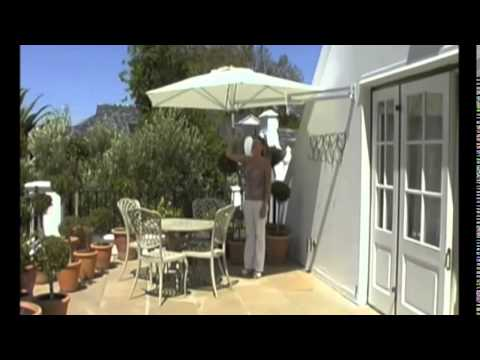 Easysol Muurparasol Wall Mounted Parasol Youtube