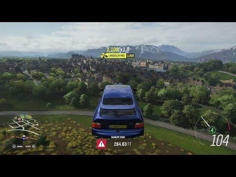 Forza Horizon 4 - Exploring Edinburgh (Spring Season)