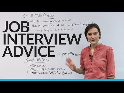What to say at your job interview (all my BEST phrases and tips!)