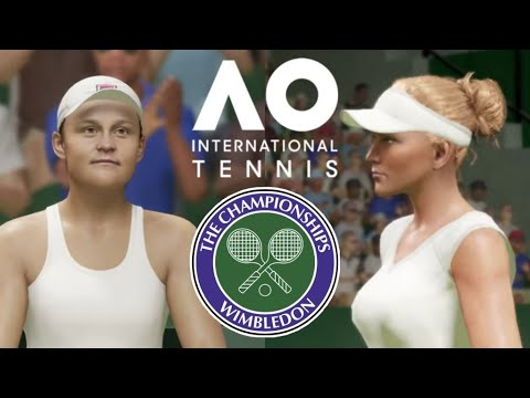 AO International Tennis PS4 Deutsch - Barty vs Riske   Wimbledon 2019
