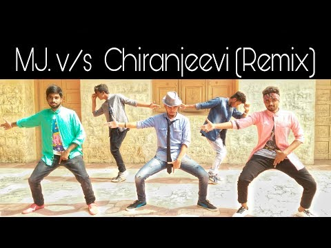 MJ v/s Chiranjeevi (Remix Beats) Dance By Rajesh Regar And Group ||Rajesh Regar||