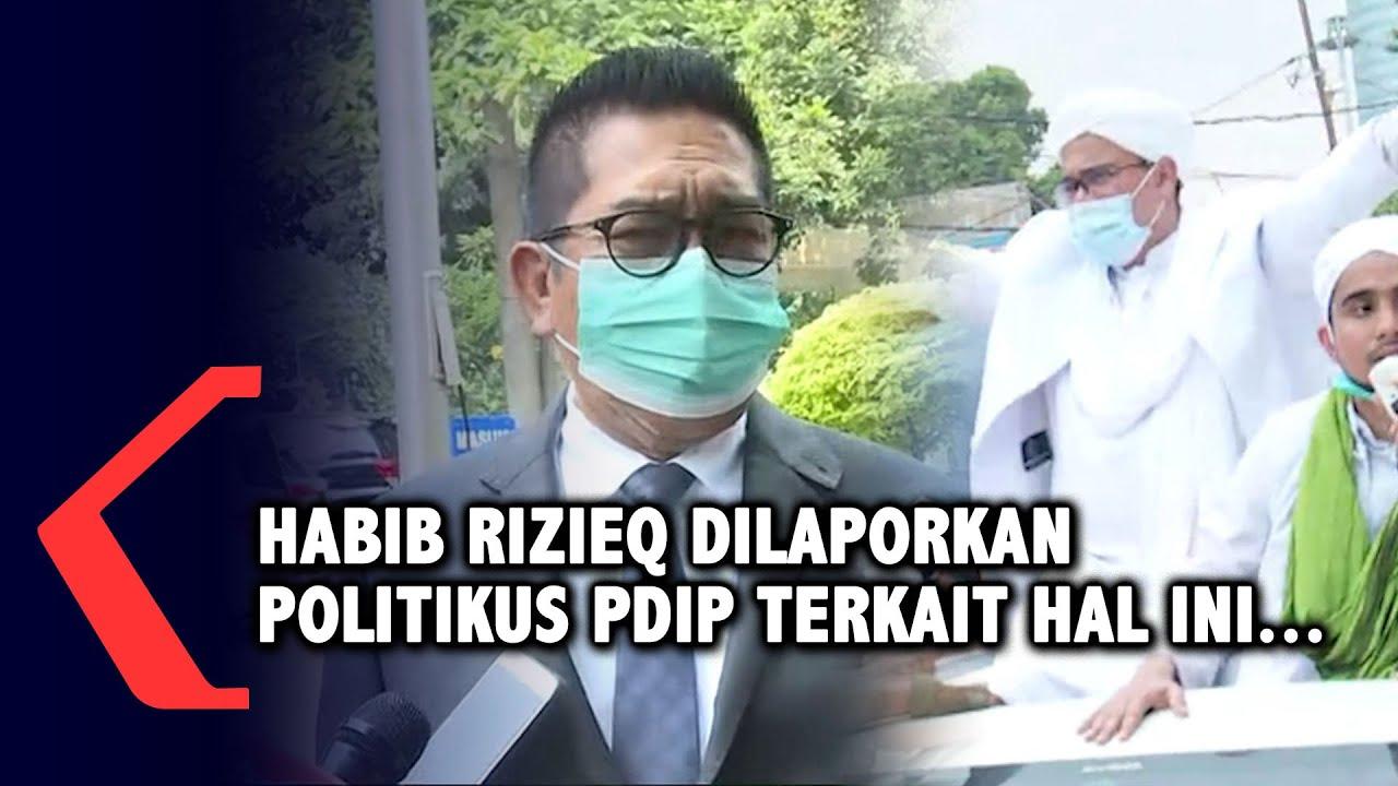 Habib Rizieq Dilaporkan Politikus PDIP Terkait Hal Ini