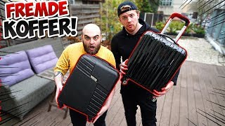 Wir ersteigern Koffer von FREMDEN !