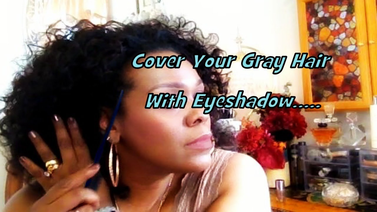 weird trick how to cover your gray hair with eyeshadow youtube. Black Bedroom Furniture Sets. Home Design Ideas