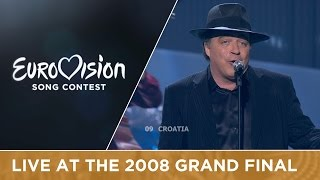 Kraljevi Ulice & 75 Cents - Romanca (Croatia) Live 2008 Eurovision Song Contest